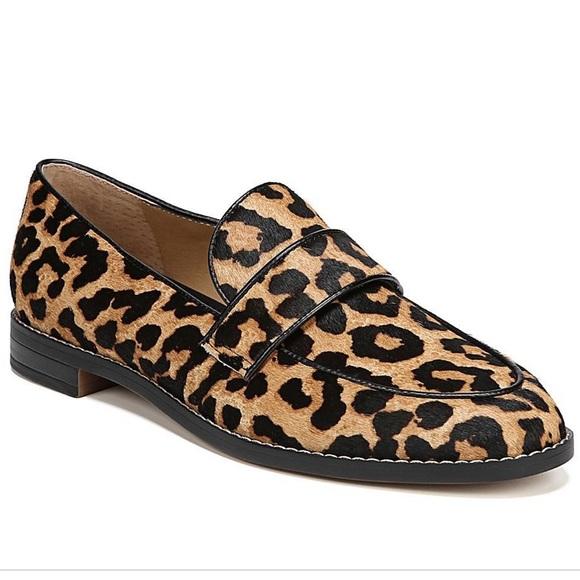 Franco Sarto Hurley Animal Print Loafers